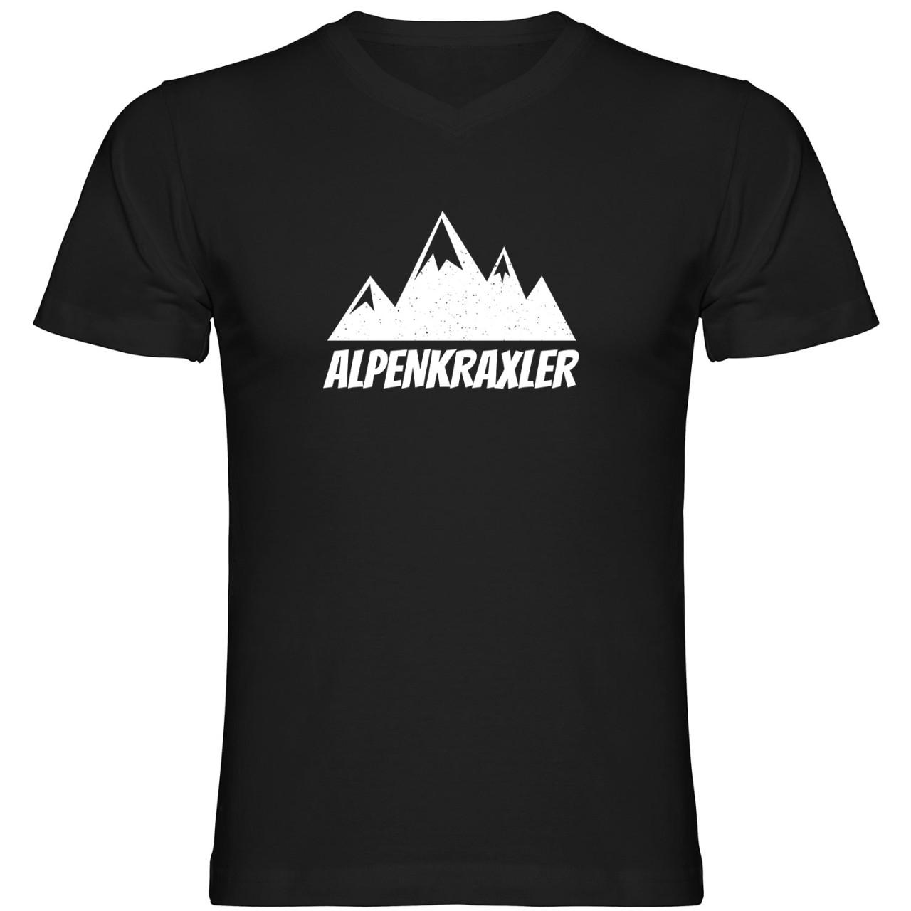 Alpenkraxler Tshirt V-Ausschnitt