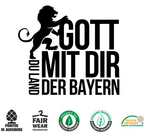 Gott mit Dir du Land der Bayern T-shirt