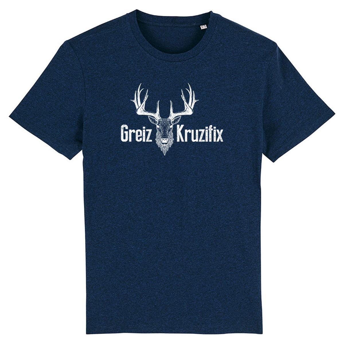 Greiz Kruzifix Herren T-shirt