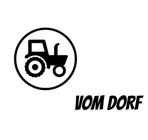 Bayrische Cap für Landwirte und Dorfkinder - Vom Dorf in vier Farben erhältlich