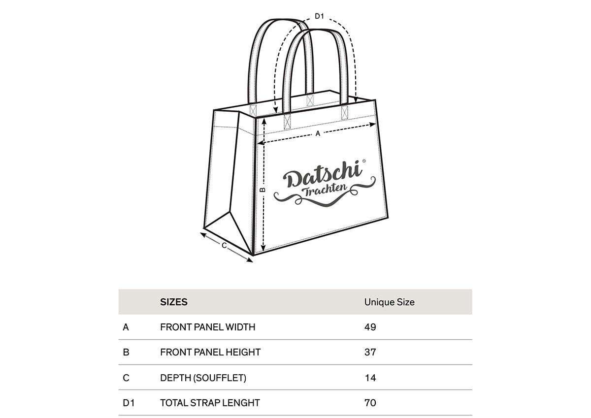 Einkaufstasche - A Gstadl für mei Graffl