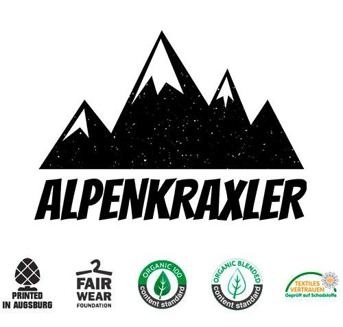 T-shirt für Bergsteiger - Alpenraxler - Perfekt zum Wandern oder Bergsteigen