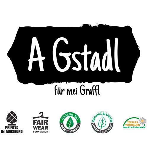 Gym Bag A Gstadl für mei Graffl - Bayrischer Turnbeutel
